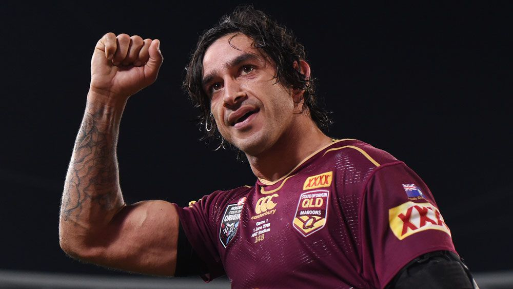 Johnathan Thurston. (AAP)