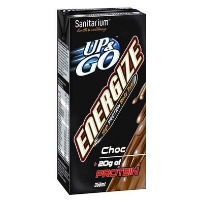 <strong>Up &amp; Go 350ml Chocolate Energise</strong>