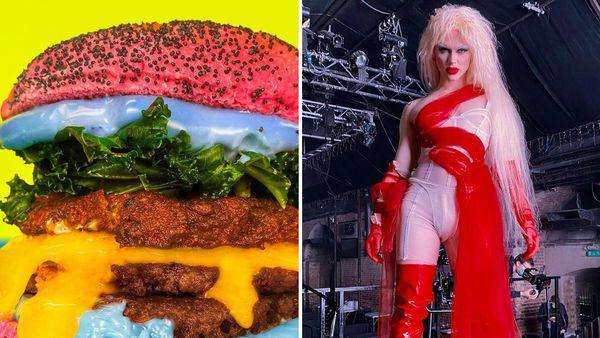 RuPaul's Drag Race constestant Bimini Bon Boulash her own Bimini Bon Burger