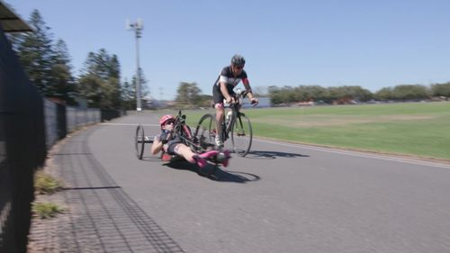 After only two full para-triathlon races since her accident, Parker is ready to compete in the Commonwealth Games. (60 Minutes)