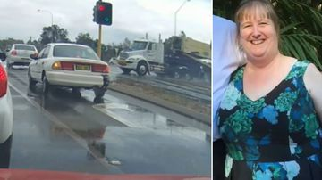 Mother's final moments as truck driver faces court