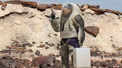 In 2012 NASA released the Z-1, representing the first major overhaul of the spacesuit in about 30 years. (NASA)