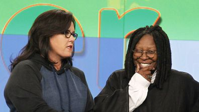 Rosie O'Donnell and Whoopi Goldberg