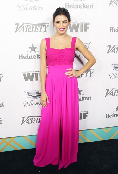 Jenna Dewan attends Variety and Women In Film's 2018 Pre-Emmy celebration.
