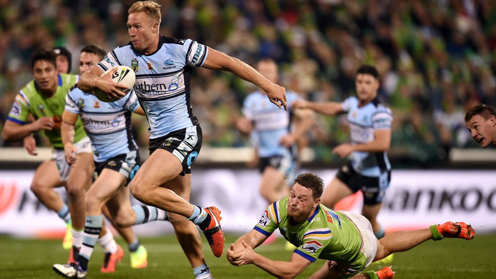 The Cronulla isn't far from breaking the club's premiership drought with a stirring qualifying final comeback win over Canberra.