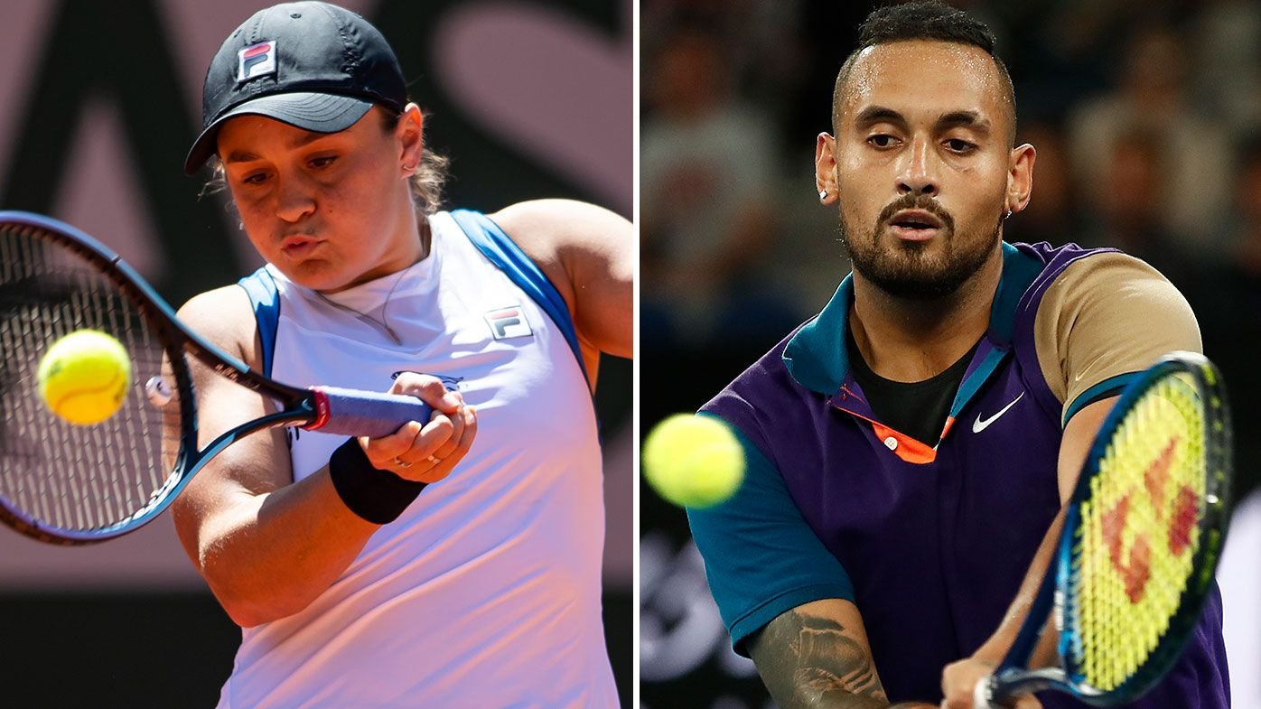 'Not ideal preparation' to impact Nick Kyrgios, Ash Barty, says Sam Groth