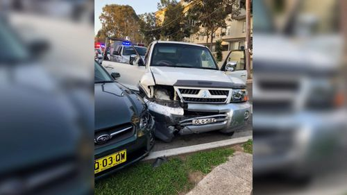 Police allegedly smashed the woman's driver window and attempted to open the door during the incident yesterday.