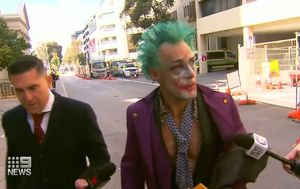 Perth 'Joker' claims charges are over 'prophetic art'