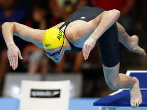 Cate Campbell. (AAP)