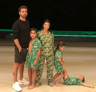 Kourtney Kardashian, Scott Disick, kids