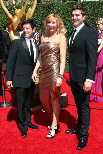 Grant Imahara, Kari Byron and Tory Belleci