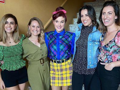The ladies of The Block 2020.