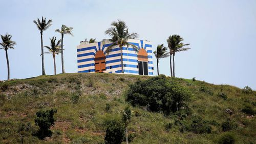 'Paedophile Island' lies just off the southeast coast of St. Thomas.