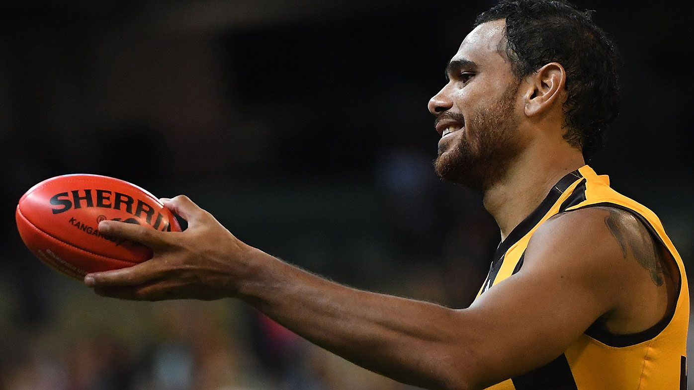 Hawthorn champion Cyril Rioli to come out of retirement for Fox Footy's Longest Kick 2018