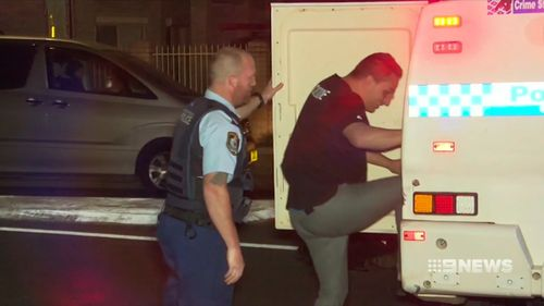 The alleged victim's two young sons were taken into custody, but later released when police determined they acted in self defence. Picture: 9NEWS