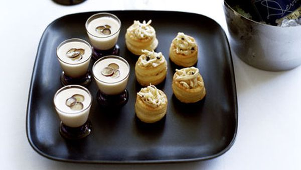 Chicken and black truffle vol-au-vents
