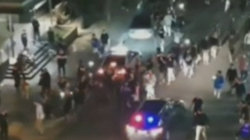 Hundreds attack police as chaos breaks out at music festival