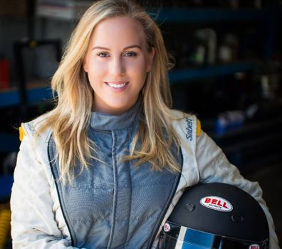 Emily Duggan race car driver female race car driver