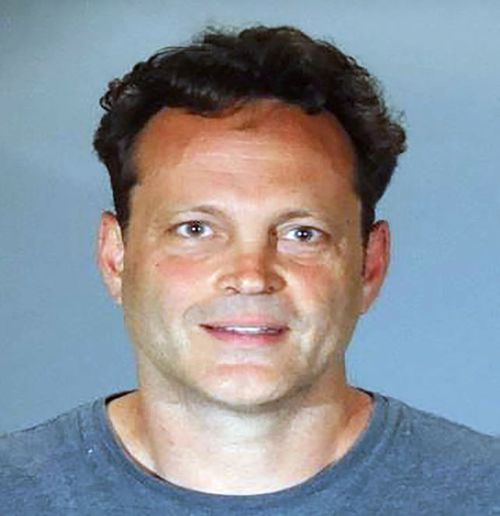 Vince Vaughn was arrested on suspicion of drink-driving yesterday. Picture: AAP