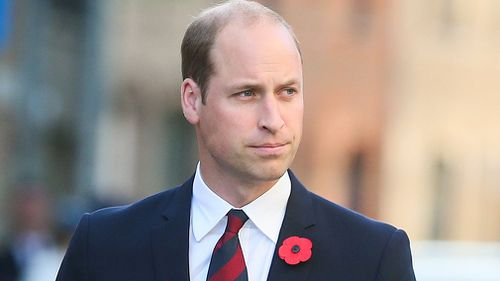 Prince William has spoken candidly about his mother's funeral in a new documentary. (AAP)