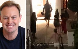 Jason Donovan fights neighbour's fire wearing his undies