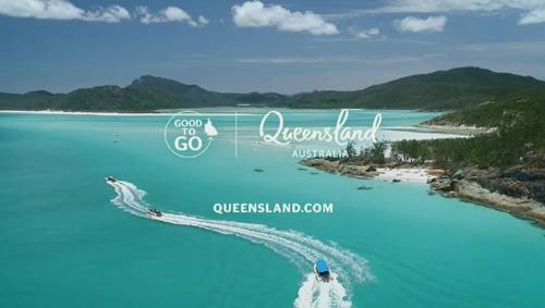 تابلوی گردشگری Good to Go Queensland