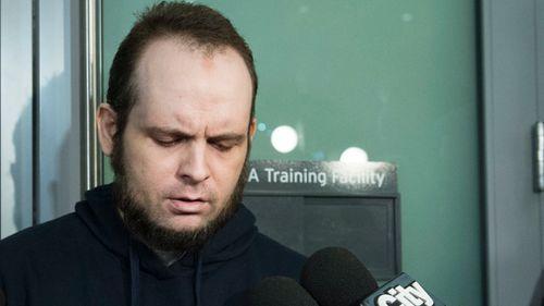 Joshua Boyle has recounted his family's hostage ordeal. (AP)