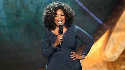 Oprah Winfrey throws surprise pizza party