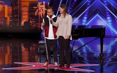 Kodi Lee on America's Got Talent