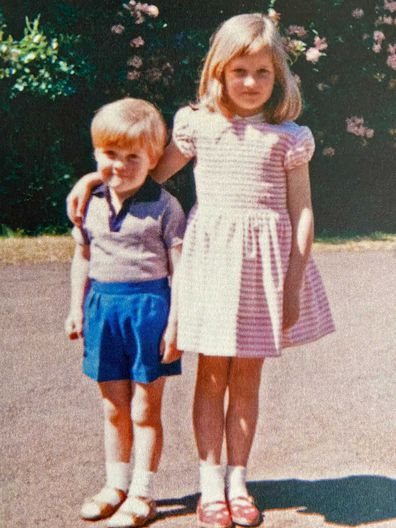 Charles Spencer shares rare childhood photo of Diana