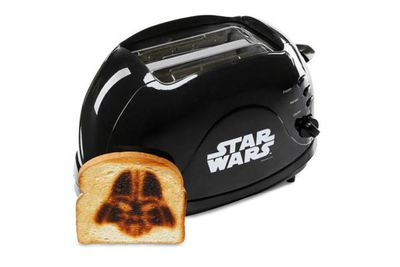 Imprint your toast every morning with some burning Anakin inspiration. You don't have to use your lightsaber to spread.