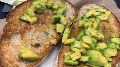 Journalist amused by 'smashed avocado' toast