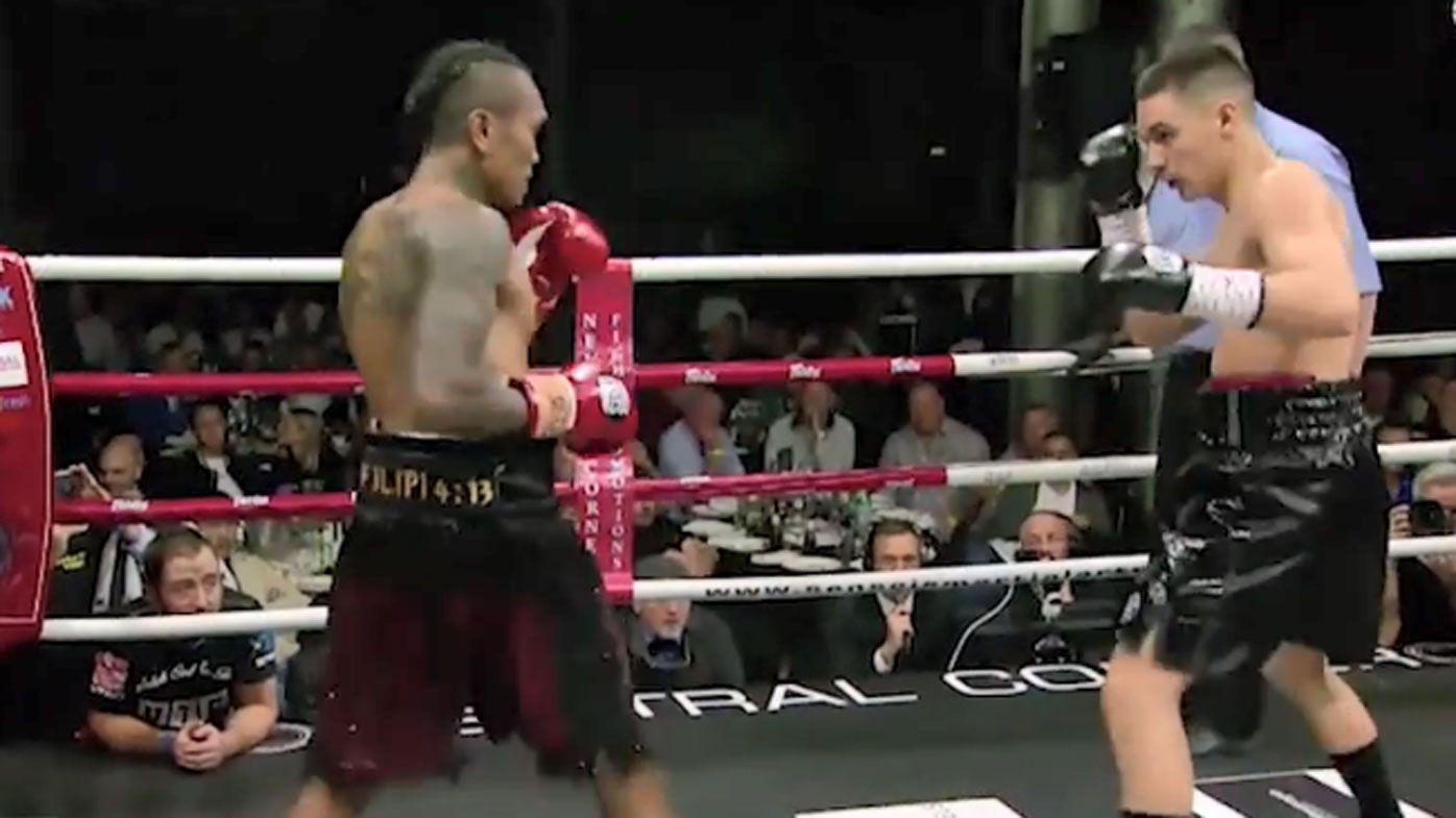 Tim Tszyu 'phantom punch' KO's opponent