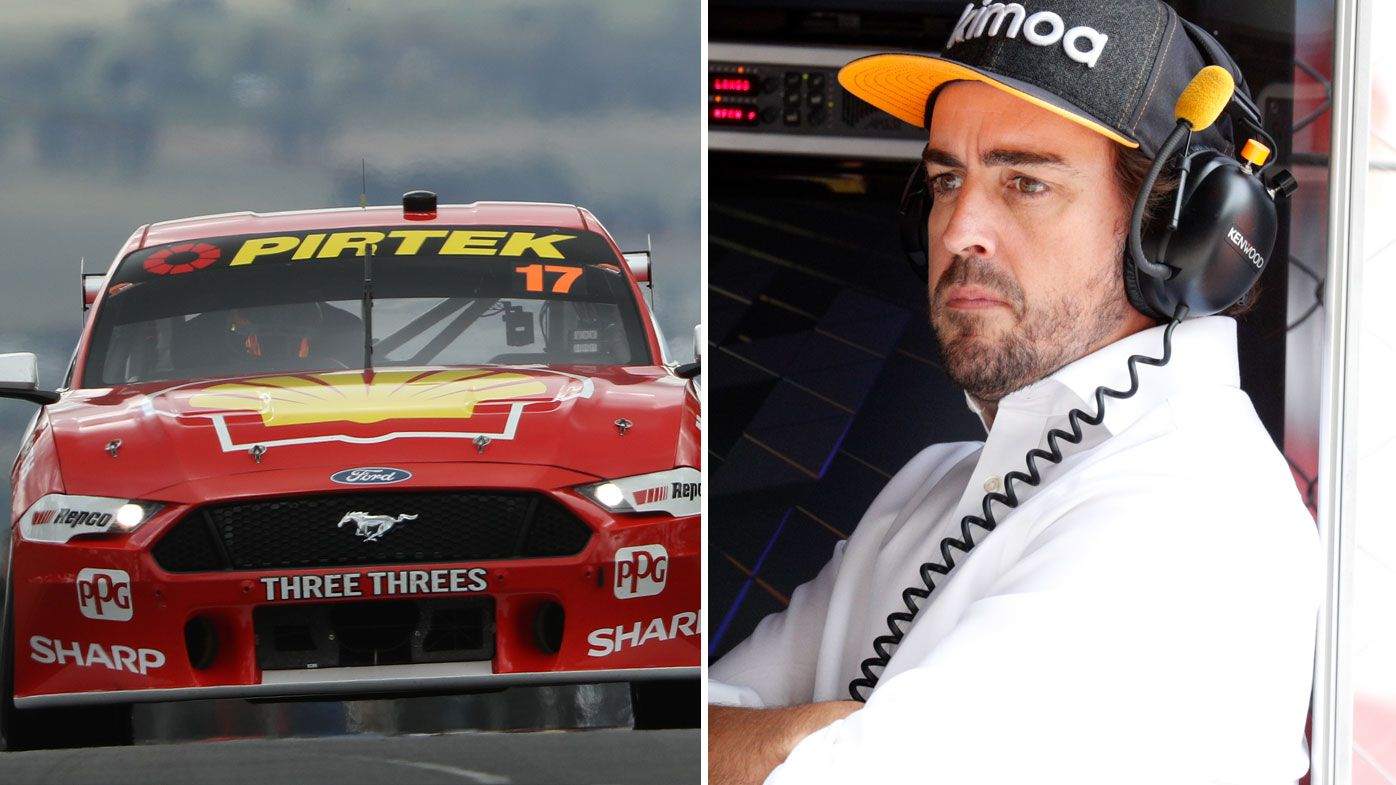 Fernando Alonso fascinated by Supercars