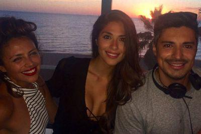 @piamiller: #LOVE #Siblings @jesus_loyola @5paz - tagged at Captain Baxter.