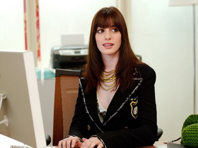Anne Hathaway The Devil Wears Prada