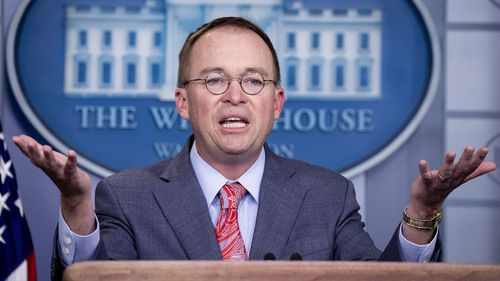 "Mick Mulvaney essentially admitted the Ukraine deal was a ""quid pro quo""."