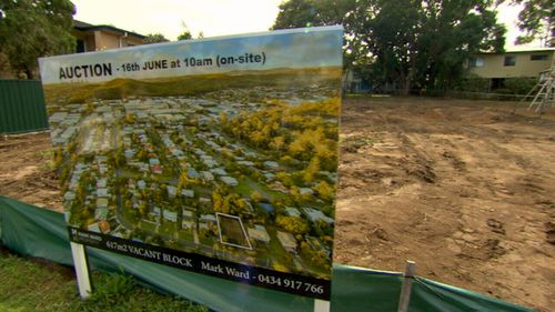 The land on which Bob's home stood will be auctioned off to help pay his costs.