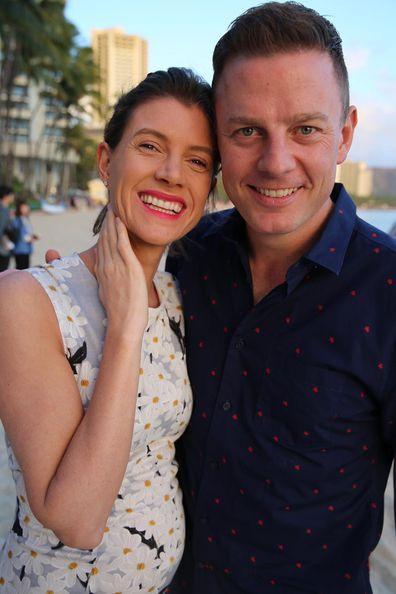 Jodie Speers and Ben Fordham