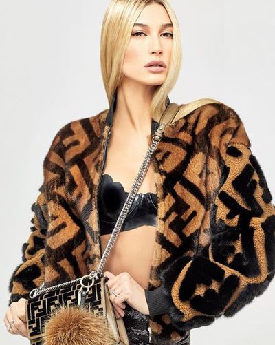 Hailey Baldwin for Vogue Japan