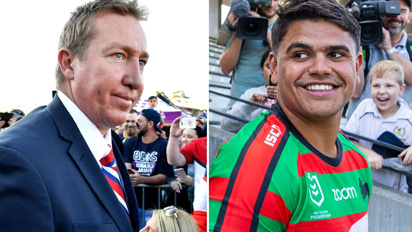 Trent Robinson and Latrell Mitchell
