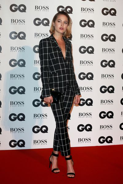 Tess Ward at the British GQ Men of the Year Awards