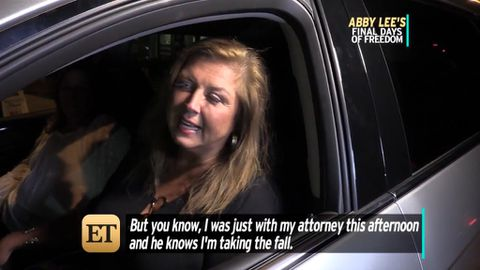 Abby Lee Miller jokes about her prison stay