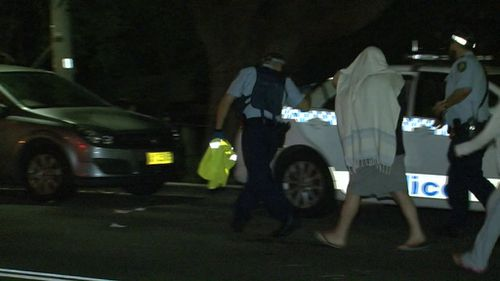 Police probe whether hit pedestrian was lying in driveway