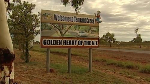 The attack happened in the Northern Territory town of Tennant Creel. Picture: 9NEWS