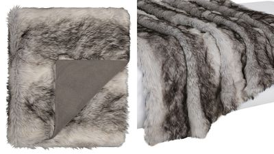 Dasher Faux Fur Throw
