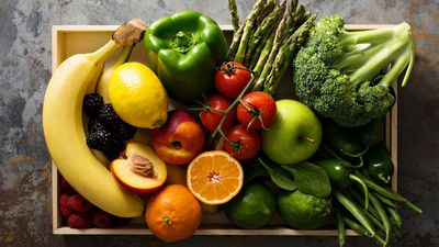 10. Fresh fruit and vegetables