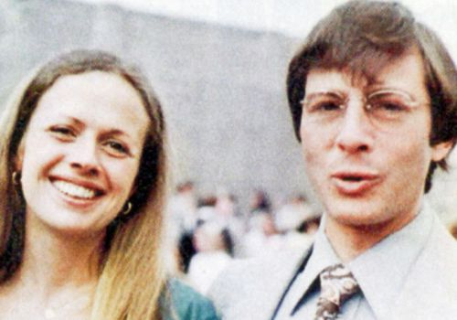 Robert Durst and his wife Kathleen Durst in the 1970s. (Facebook).