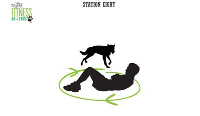 <strong>Station Eight: Around-the-world crunches (4 minutes)</strong>