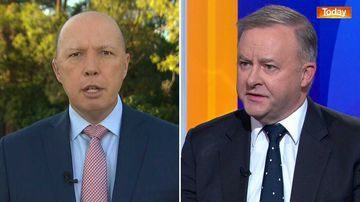 Peter Dutton and Anthony Albanese.